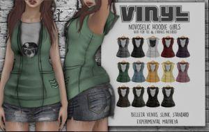 Vinyl - Novoselic Hoodie @ PL - Slink, Mait, Bell Venus